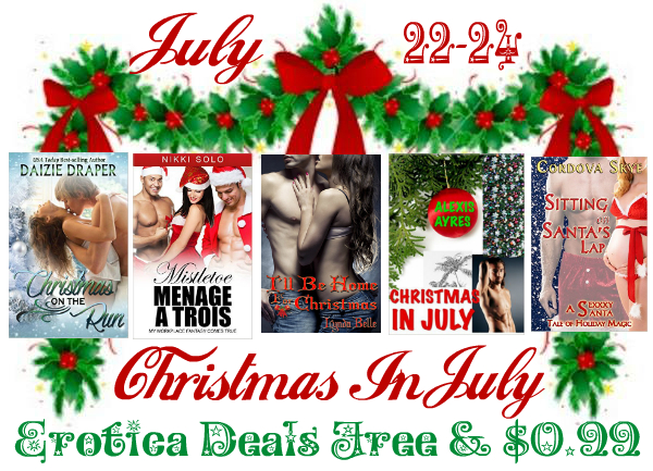 Christmas In July Banner